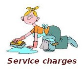 service charges grioulets